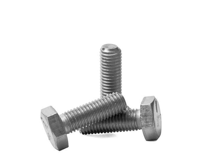 "SCREW, HEX HEAD CAP, 1/4-28 X 3/4"" LG, S/S"