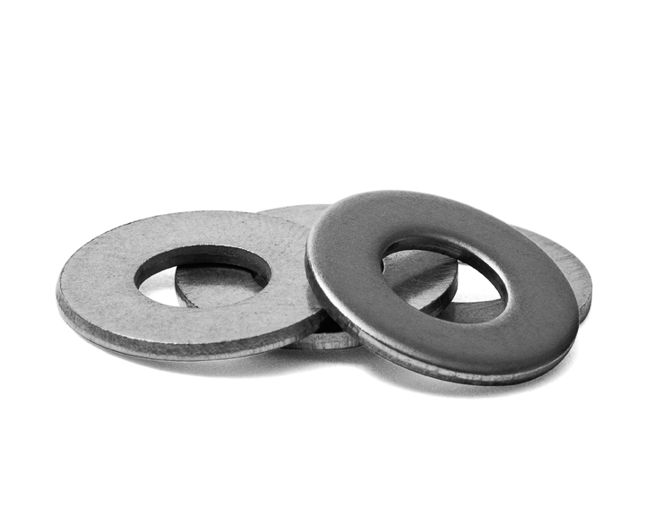 "WASHER, FLAT, 1/4"" ID, S/S"
